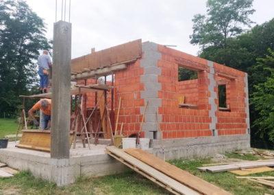 Izgradnja vikend kuće - Dragoslavec (1)