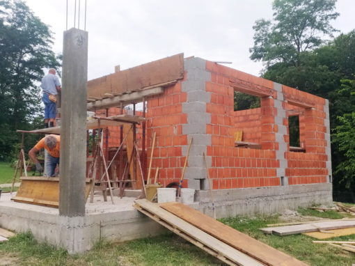 Izgradnja vikend kuće – Dragoslavec