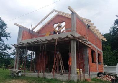 Izgradnja vikend kuće - Dragoslavec (10)