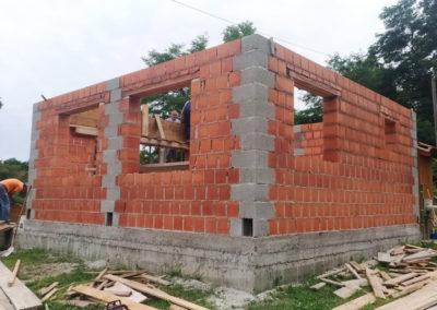 Izgradnja vikend kuće - Dragoslavec (2)