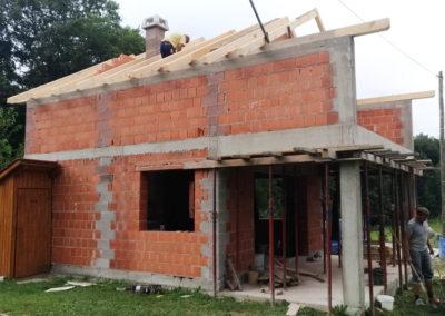 Izgradnja vikend kuće - Dragoslavec (9)