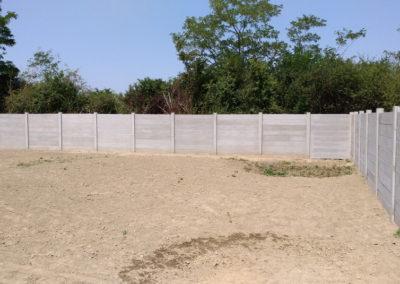 Postavljanje montažne kuće, ograde i polaganje tlakovaca, opločnika - Sračinec (17)