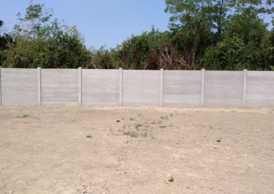 Postavljanje montažne kuće, ograde i polaganje tlakovaca, opločnika - Sračinec (18)